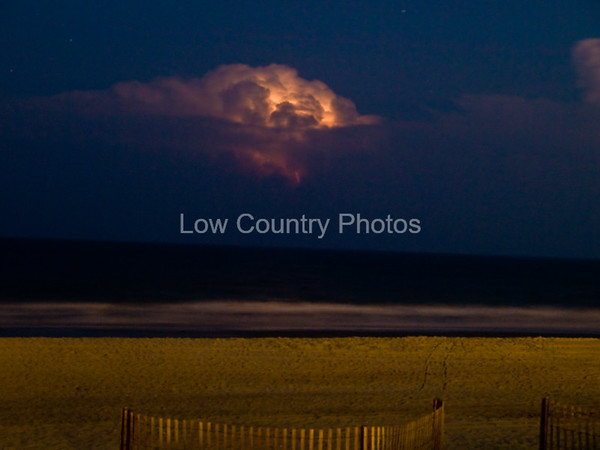 Storm Brewing at Surfside Beach, SC