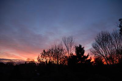 Welling sunset Dec 2013