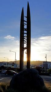 Statue, Wellington, New Zealand