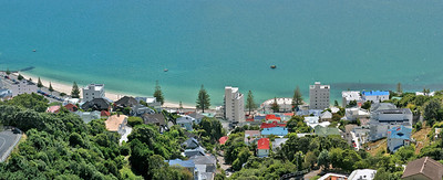 This is a panoramic stitch of Oriental Parade, shot with my canon 400D and stitched with PTgui.