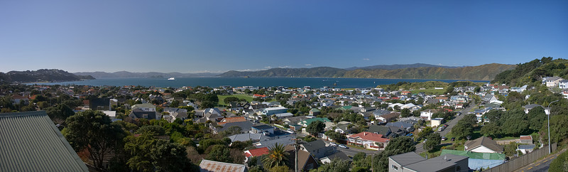 Seatoun view panorama