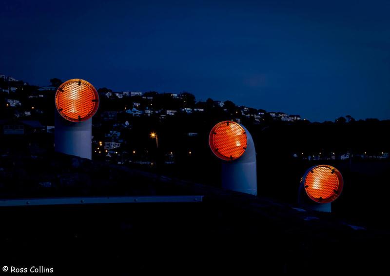 Wahine memorial just before daybreak, Churchill Park, Seatoun