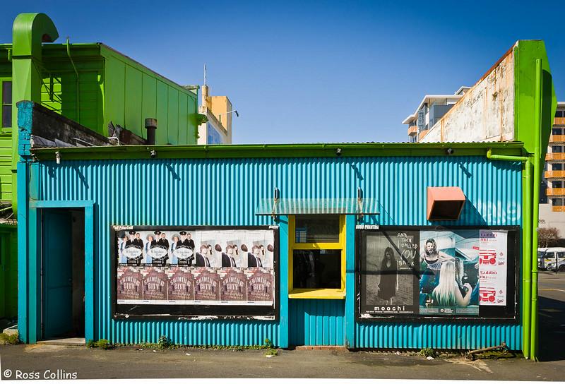 Upper Cuba Street, Wellington, 1 September 2007