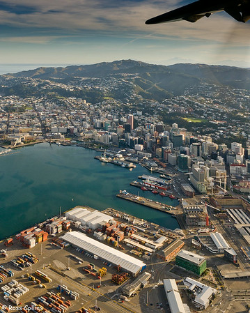 Wellington from Above, 13 April 2008