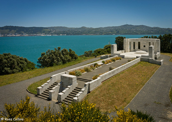 William Massey Memorial Overlooking Wellington Harbour, Point Halswell, Wellington, 25 November 2007