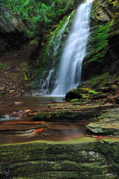 Fletcher Creek Falls, near Kaslo