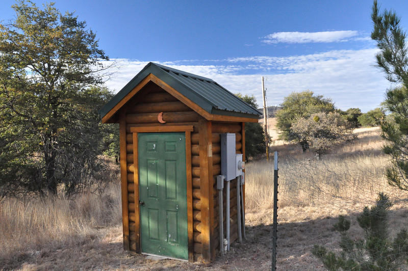 This looked like an outhouse.  Still not sure what it is.