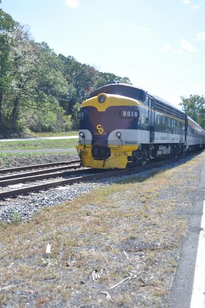 West Virginia Scenic Train October 2009