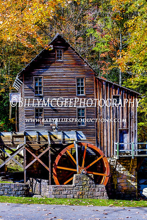 Glade Creek Grist Mill - 13 Oct 2012