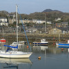 Porthmadog Harbour on a still spring morning in 2014.