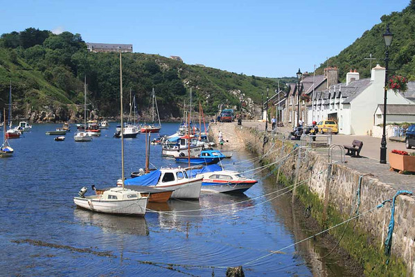 Fishguard - old town harbour.