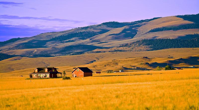 Montana, Ennis, 蒙大纳,黄石公园,风景