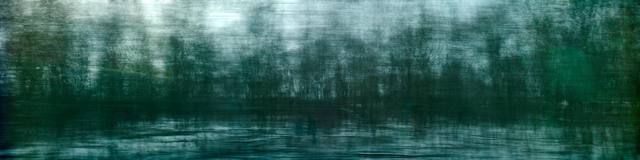 Westbound #5 - Monoprint - 24 x 96 - $4000