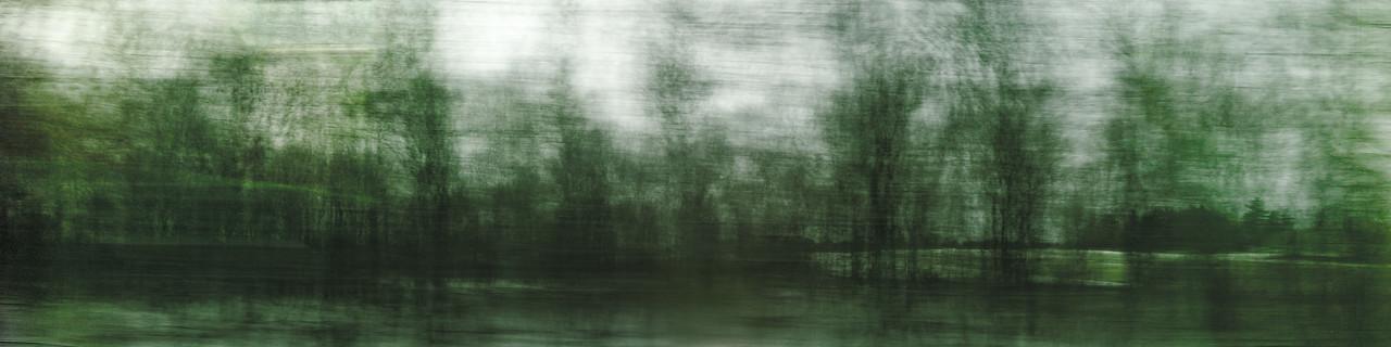 Westbound #2 - Monoprint - 24 x 96 - $4000