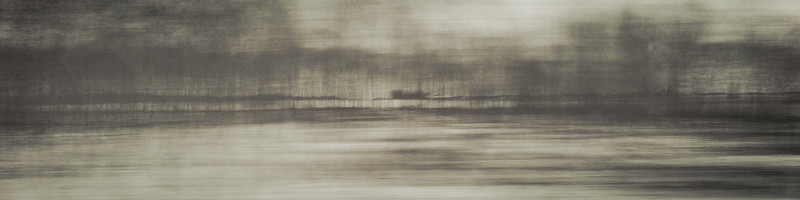 Westbound #1 - Monoprint - 24 x 96 - $4000