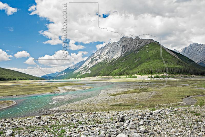 Medicine Lake Feed Water,<br /> Jasper National Park, Alberta, Canada
