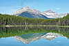 Herbert Lake, Mount Bowsorth,<br /> Banff National Park, Alberta, Canada