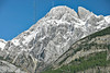 Rocky Mountain Scenery from Spray Lakes Road,<br /> Mount Blane (center) and The Blade (right),<br /> Kananaskis Country, Alberta, Canada
