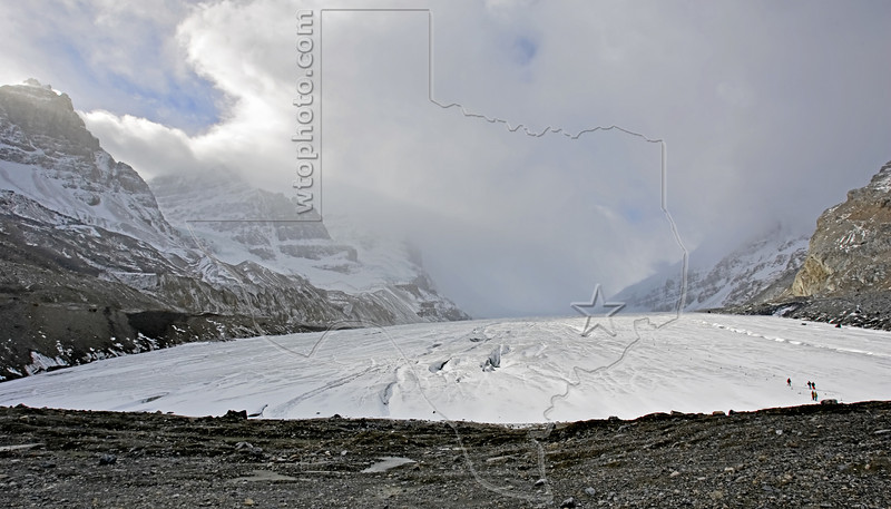 Athabasca Glacier,<br /> Jasper National Park, Alberta, Canada