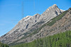 Rocky Mountain Scenery along Highway 40,<br /> Opal Ridge (left) and Grizzly Peak (right)<br /> Kananaskis Country, Alberta, Canada