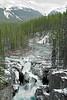 Sunwapta Falls, Sunwapta River,<br /> Jasper National Park, Alberta, Canada