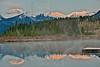 Sunrise at Vermillion Lakes,<br /> Banff National Park, Alberta, Canada
