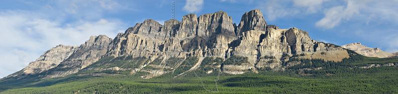 Panorama - Castle Mountain<br /> Banff National Park, Alberta, Canada