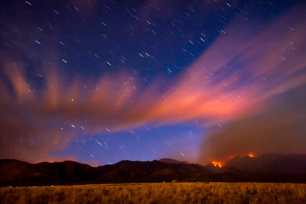 Fire on Deseret Peak