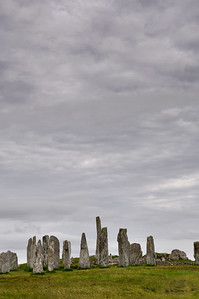The stones at Callanish, The Isle of Lewis