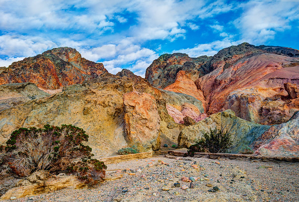 Artists Drive, Death Valley, California