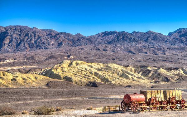 Harmony Borax Works, Death Valley, California