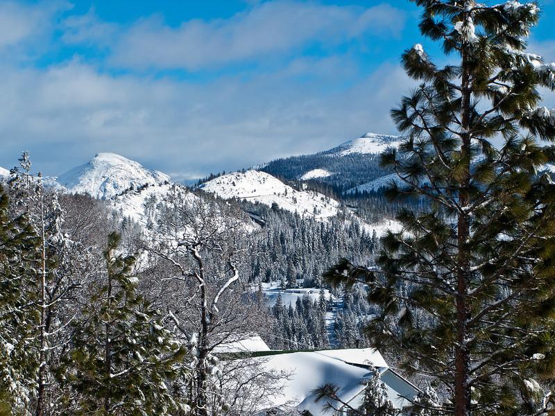 High Sierra in Winter 1
