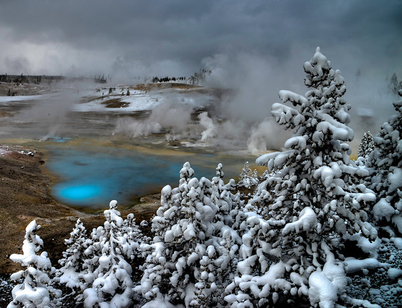 Winter in Yellowstone National Park #5