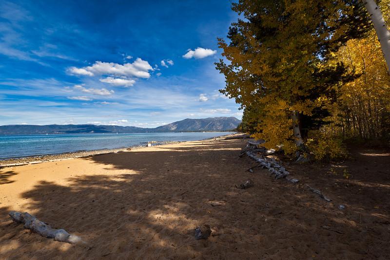 Tallac State Park Beach, Lake Tahoe, CA