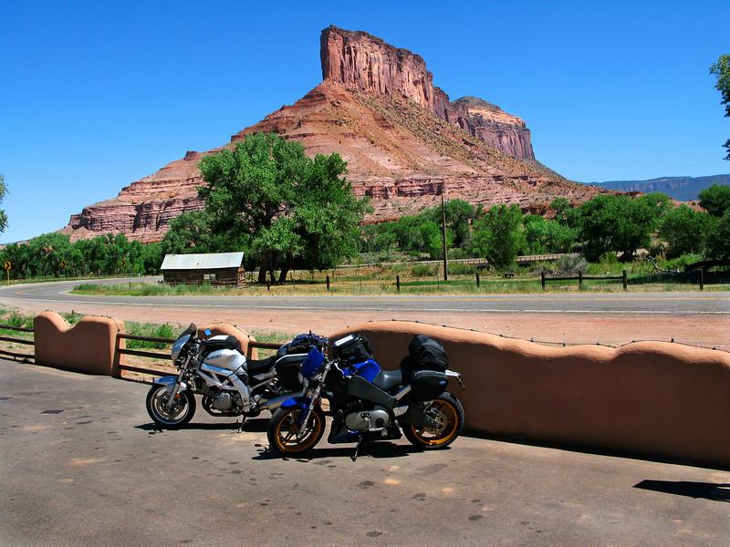 Rest Stop, Gateway Canyon, Colorado