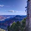 Grand Canyon View from North Rim Lodge
