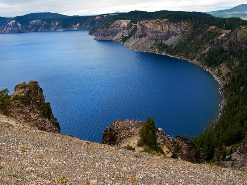 Crater Lake Rim, Oregon