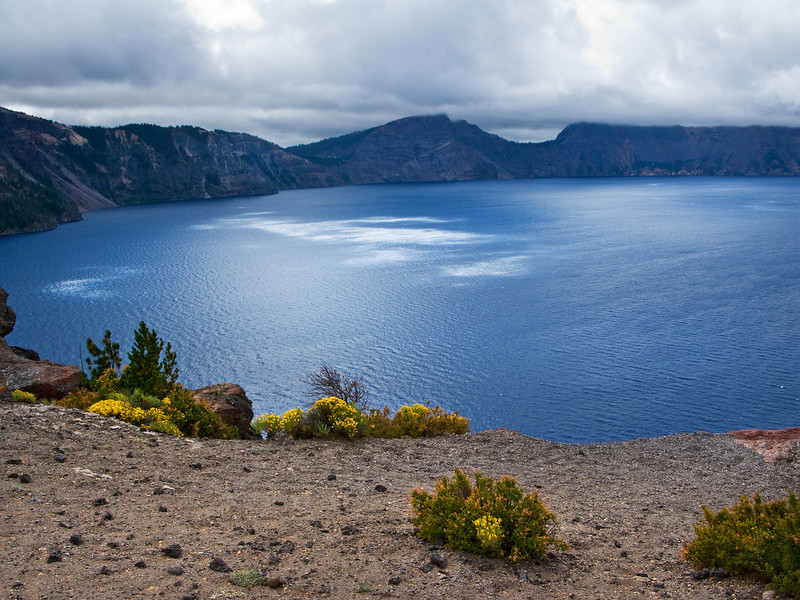 Dappled Light on Crater Lake, Oregon