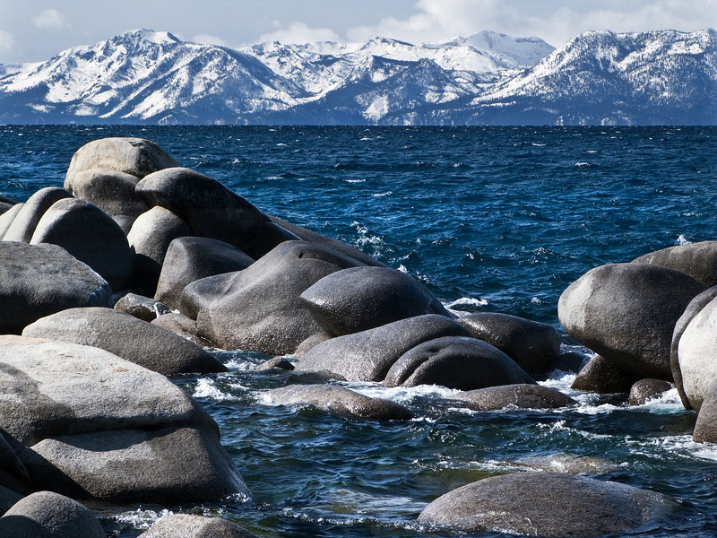 Cold Waters of Lake Tahoe, CA