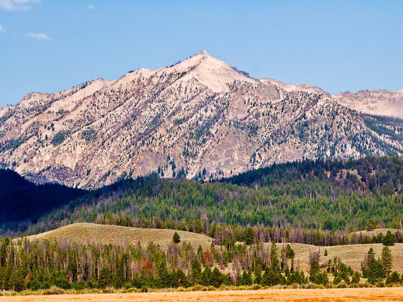 Pink Sawtooth Peak, Idaho