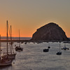 Sunset at Morro Bay, California