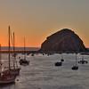Sunset at Morro Bay, California