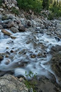 Roaring River in the Rocky Mountains.