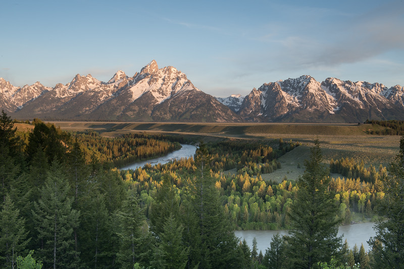 Snake River Overlook, a view made famous by Ansel Adams.