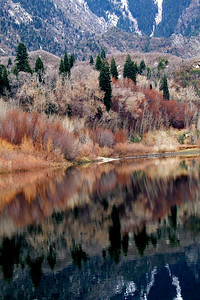 ref01: early winter palette in Bell's Canyon, Wasatch Range, northern Utah, photographed by Bill