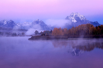 early light at Oxbow Bend, Grand Tetons National Park