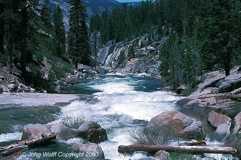 <b> Rapids above Grand Canyon of the Yellowstone </b>