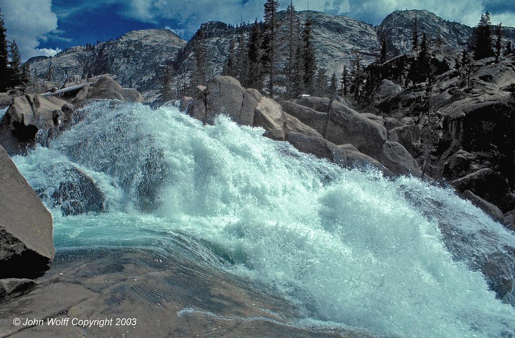 <b> Water power - Waterwheel Falls, Yosemite National Park </b>