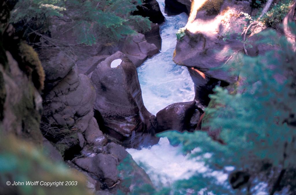 <b> Avalanche Creek - Glacier National Park </b>