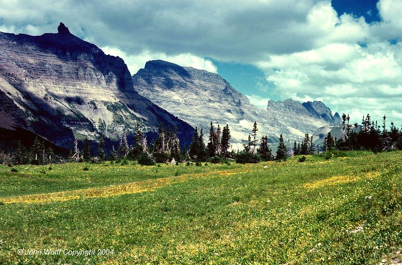 <b> The Garden Wall - Glacier National Park, Montana </b>